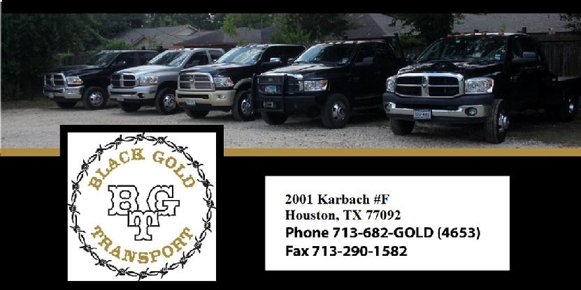 Black Gold Transport Houston TX 77092